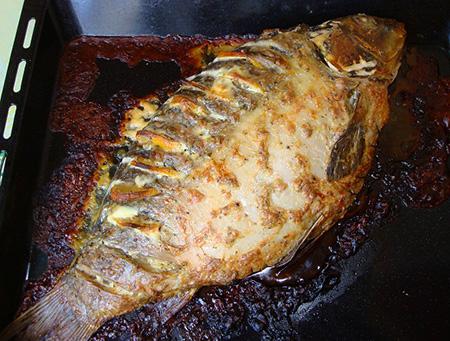 как приготовить рыбу в духовке по кавказский