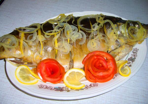блюда из карпа в фольге рецепты с фото в духовке