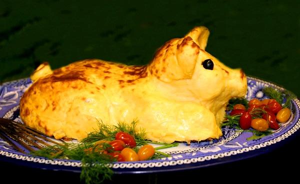 том поросенок из картофельного пюре рецепт с фото профессиональной