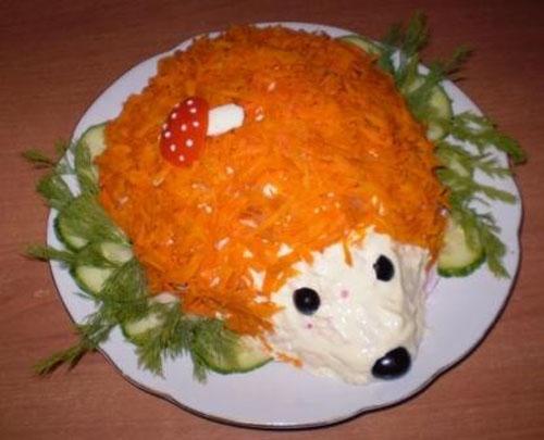 Красивое оформление детских блюд.