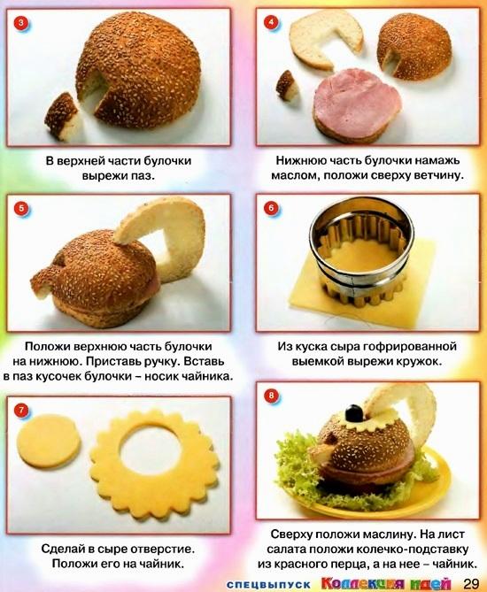 Рецепты для чайников с картинками