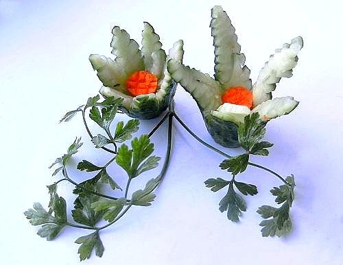 Цветы из огурца Ogurec-cvetok-00