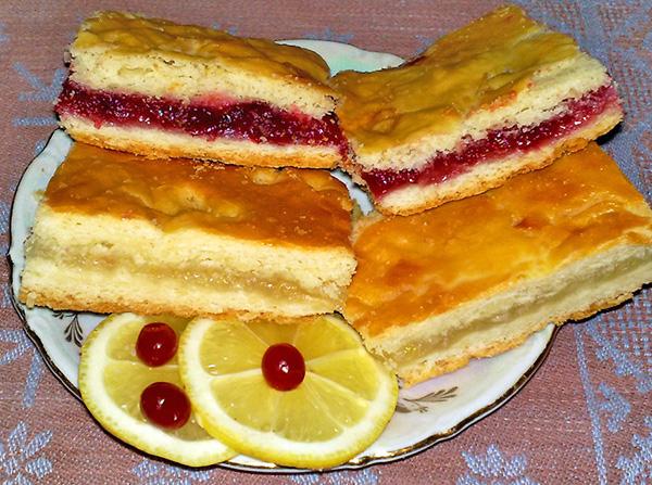 пироги с лимоном рецепты с фото