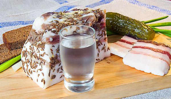 соленое сало по древним рецептам