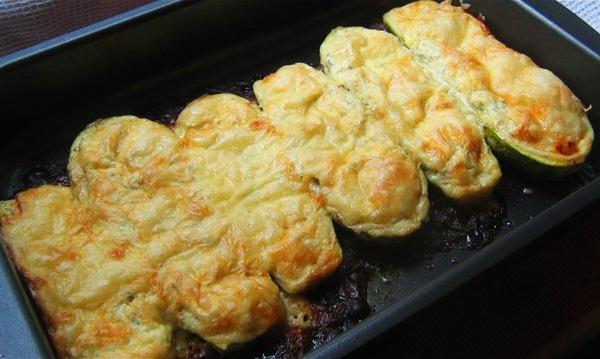 фаршированные кабачки рецепт с фото на сковороде в кляре