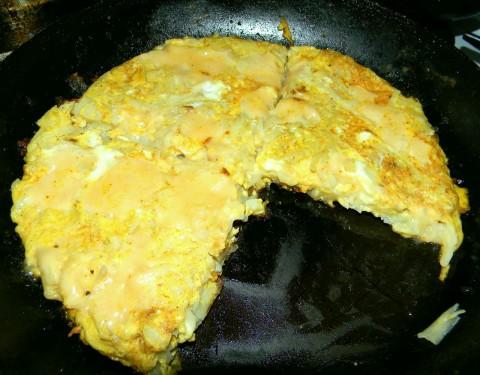 Картошка с яйцом и сыром в духовке рецепт с пошагово в