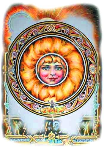 4 лика славянского Бога Солнца. | Avega
