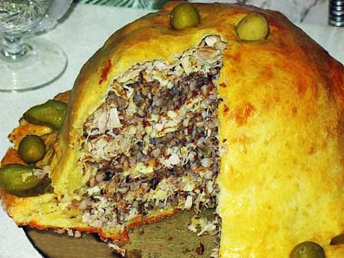 Курник - король пирогов.  Во времена царствования Ивана