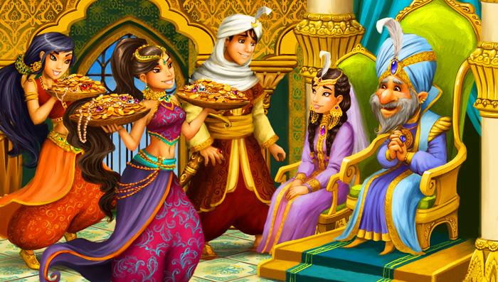 Aladdin I Volshebnaya Lampa Aladdin Arabskaya Ckazka S Kartinkami Repka Russkaya Ckazka S Kartinkami Dlya Samyh Malenkih Mk Konfetnyj Zamok Tornado Foto