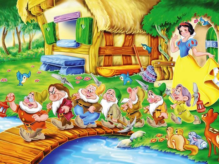 Сказка белоснежка и семь гномов скачать книгу