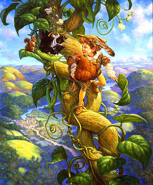 СКАЗКИ. #188. Английская народная сказка «ДЖЕК И БОБОВЫЙ ...