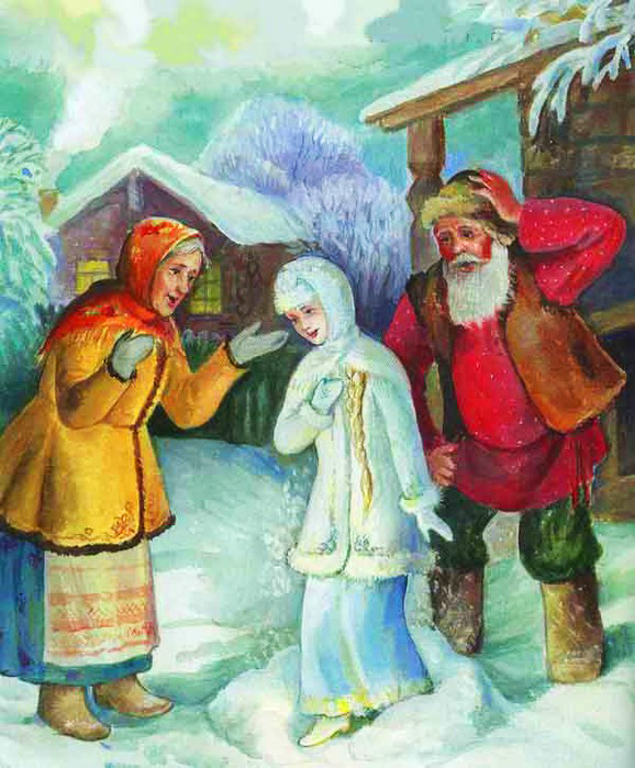 Сочинить сказку мини про снегурочку 2 класс