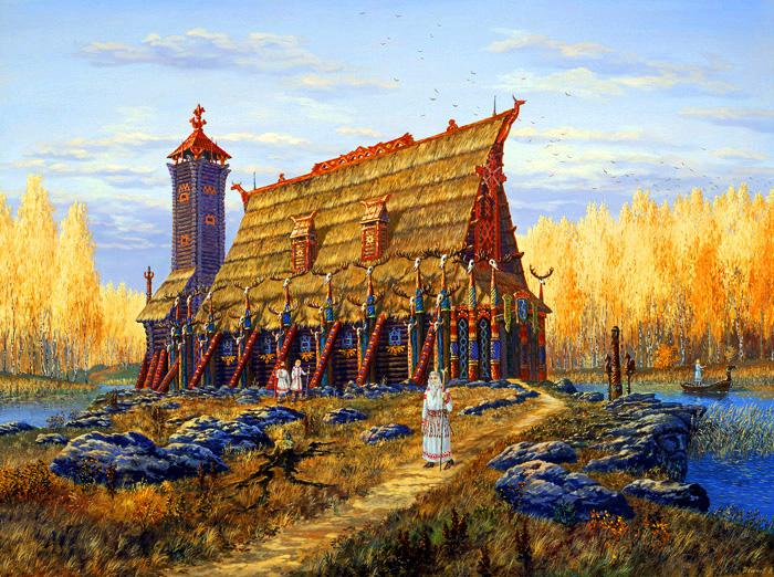 Старинный русский календарь начало осени картинки