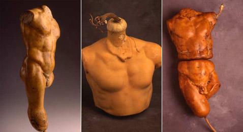 Дэн Лэдд выращивает самые разнообразные скульптуры. Но, как это и полагается воспитанному человеку, больше всего внимания уделяет античности (фото с сайта danladd.com).