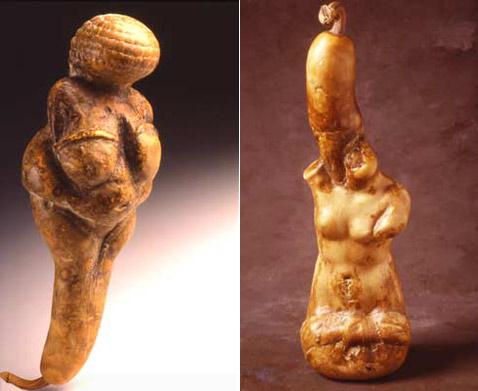 Впрочем, античность – не самое главное. Венера может быть и Милосской, и Виллендорфской. Пусть и с хвостом (фото с сайта danladd.com).