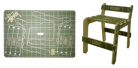 Вариация на тему стула Бена Уилсона (фото с сайта thechipfactory.co.uk).