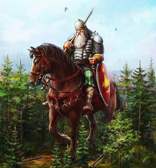 Однако, начиная с рядового солдата и до командира роты, русские были равны нам — мужественные, находчивые, одаренные маскировщики.