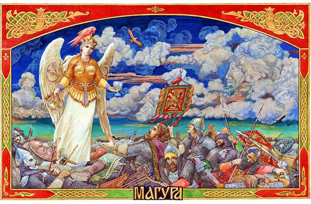 Языческая богиня плодородия у восточных славян